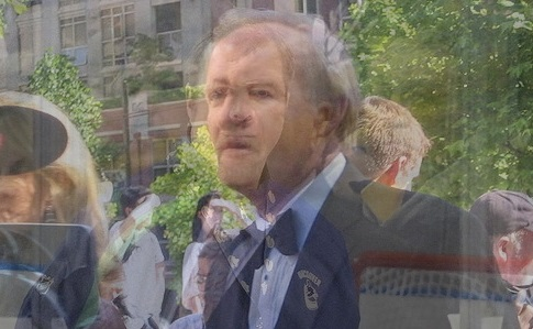 Bruce-Alain Ruff. Looks like the ghost of Gene Hackman. You're welcome for the nightmares.  Composite of images by
